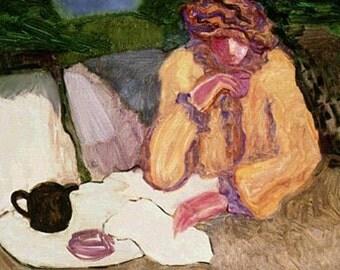"""Barbara Wood """"Teatime & Margaret"""" firmata e numerata serigrafia in edizione limitata"""