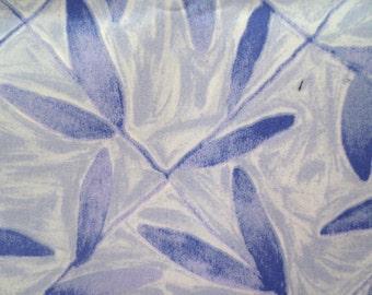Indoor / Outdoor Pillow Cover Beautiful Lavender Purple Print