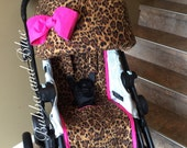 city select stroller/pram canopy cover and liner- 1 reversible canopy slip and 1reversible seat liner