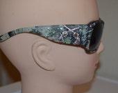 Gun Sunglasses Pink or Green Camo