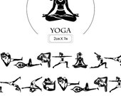 1 Roll of Limited Edition Washi Tape- Yoga Pose