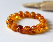 100% Natural Untreated Baltic Amber Bracelet High Quality Pure Cognac Amber Bracelet