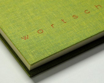 "Notebook ""vocabulary"", dark green"