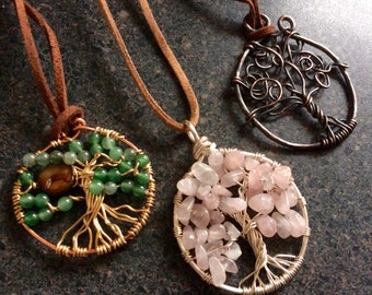 TREE of Life WORKSHOP - TruForm Jewelry Design Class, Jewellery Workshop, DIY Class, Beading, Wirework, Southern Ontario