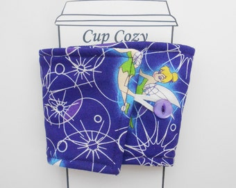 Tinkerbell Coffee cozy
