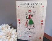 Vintage Hungarian Cook Book  Women's Guild Hungarian Reformed Church Perth Amboy  NJ  Cookbook 1973