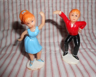 Vintage Cake Toppers-Dancing Couple