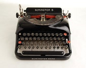 "RESERVED!! Typewriter Remington Rand 5 ""Streamline"""