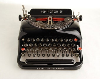 "Typewriter Remington Rand 5 ""Streamline"""