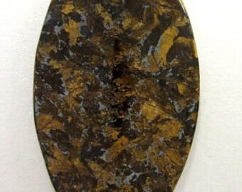 Drilled Bronzite Cabochon
