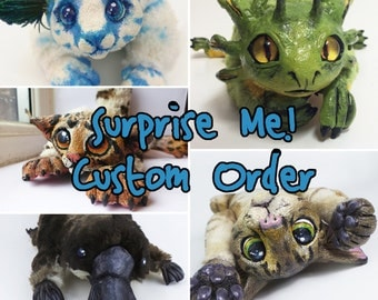 Suprise Me! Custom OOAK Plush Art Doll
