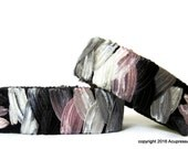 Acupressure Anti Nausea Bracelets for motion sickness, anxiety, treatment related nausea. Pink Zebra