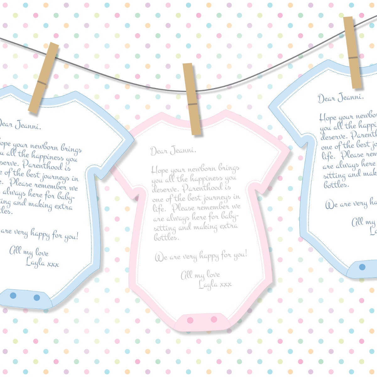 Baby shower advice cards decoration printable cutout for Baby shower decoration cutouts