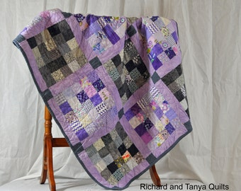 25 Squared Quilt pattern
