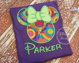 Custom embroidered Disney Inspired Vacation Shirts for the Family! 945
