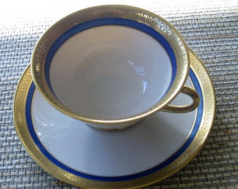 Ransoil China Cup and Saucer