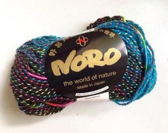 40% Off Noro Kujaku Wool Self Striping Rainbow Aran Yarn 100 Yards