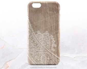 iPhone 7 Case Wood Paisley iPhone 7 Plus iPhone 6s Case iPhone SE Case iPhone 6 Case iPhone 5S Case Galaxy S7 Case Galaxy S6 Case I145
