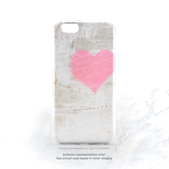iPhone 7 Case Concrete Heart iPhone 7 Plus iPhone 6s Case iPhone SE Case iPhone 6 Case iPhone 5S Case Galaxy S7 Case Galaxy S6 Case T1