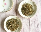 ORGANIC DETOX TEA  / Dandelion Tea / Wellness Tea / Loose Leaf Tea / Yellowdock - Red Clover - Ginger Root - Peppermint