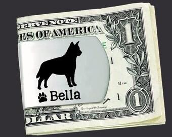Australian Cattle Dog Money Clip   Australian Cattle Dog   Custom Money Clip   Fathers Day   Gift for Men   Money Clip   Korena Loves
