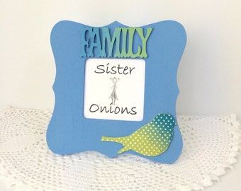 My Family - Mi Familia Embellished Picture Frame - Family Picture Frame - Family Gifts
