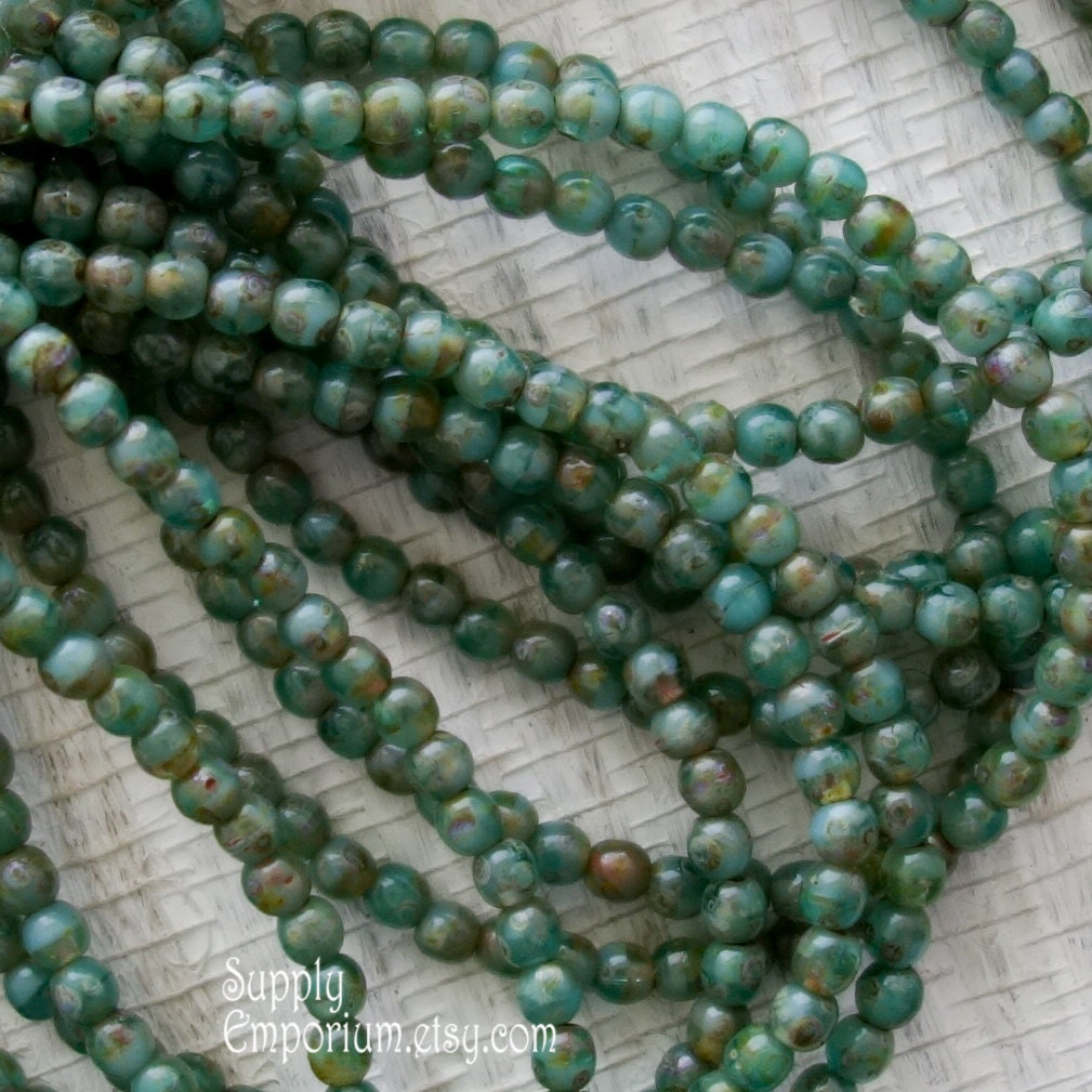 Mm Glass Accent Beads