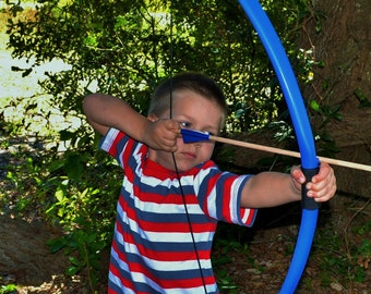 Blue Bow and Arrow Set for Kids