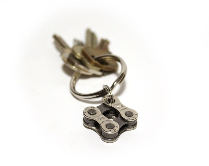 Recycled Bicycle Chain Keychain w/FREE shipping