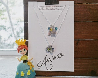 Princess Anna Frozen Fever Charm Necklace