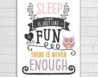 18th Birthday 'Sleep Is Just Like' 1998 Print/ Teenager Gift/ 18th Birthday Print/ Birthday Gift