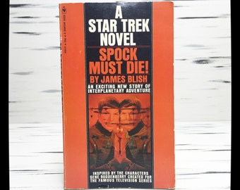 1970's Star Trek Novel | Spock Must Die!