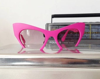 Cindy Hot Pink Cat Eye Sunglasses