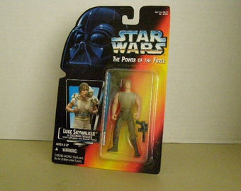 Star Wars Power of the Force 2 Luke Skywalker 3 3/4 Inch Figure New In Package
