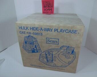 1970's Sears Exclusive Hulk HideAway Playset-Sealed