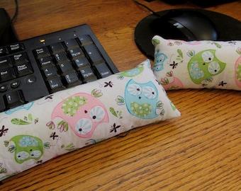 Owl Wrist Rest, Keyboard Wrist Rest, Mouse Wrist Support