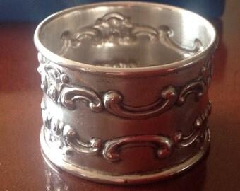 Vintage Sterling Silver Napkin Ring by Gorham 1105