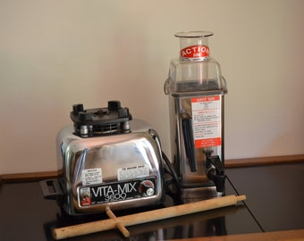 Vitamix Super 3600 Stainless Steel & Chrome Blender Action Dome Vita-Mix
