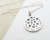 Reach for the Stars Necklace - Sterling Silver Necklace - Simple Jewelry - Dainty Necklace - Star Necklace - Gift for Her