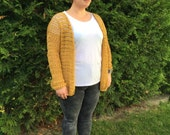 The Summer Cardigan - Woman's Crochet Cardigan - Crochet Pattern