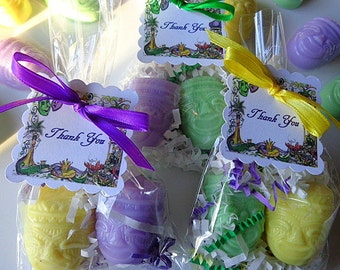 10 New Orleans Soap Favors, Birthday Party Favors, Special Occasions, Weddings, Shower Favors