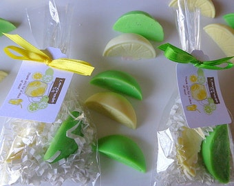 20 Lemonade Party Favors, 40 Soaps, Birthday Parties, Children, Spring, Special Occasions