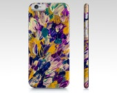 Petals Abstract Contemporary Abstract Painting IPhone  5 / 5s, 6 / 6s and Samsung Galaxy S3, S4, S5 Mobile Device Case