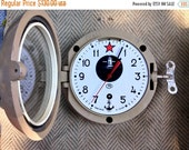 SALE - Soviet clock - Working - Ship Clock ,Vintage Clock, NAVY Clock, Mechanical clock