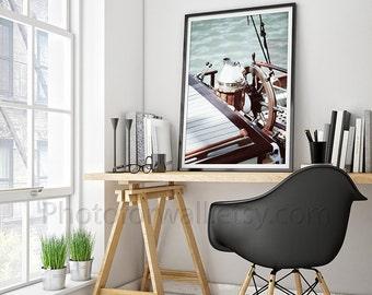 home decor photography. Bathroom decor  boat photography office nautical home print 8x10 Nautical Etsy