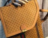 Vintage 1970-1980's designer Gucci Messanger Bag Unisex*