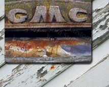 Mousepad Vintage GMC Emblem Image on Extra Thick Mousepad