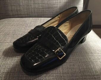 vegan 60s low heels size eur 39