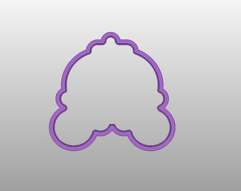 Carriage  Cookie Cutter (Version 2)