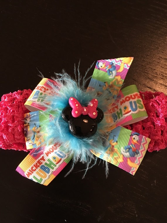 Mickey Mouse Clubhouse Baby Infant Toddler Soft Crochet